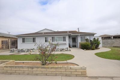 Oxnard Single Family Home Active Under Contract: 918 West Guava Street