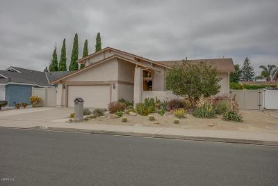 Camarillo Single Family Home For Sale: 3579 Castano Drive