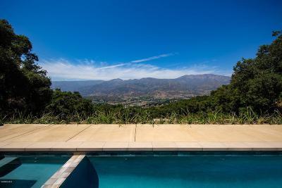 Ojai Single Family Home For Sale: 11075 Sulphur Mountain Road
