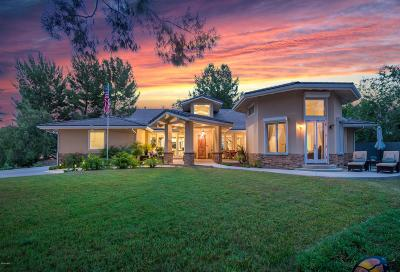 Agoura Hills Single Family Home For Sale: 5545 Foothill Drive