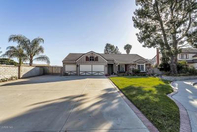 Simi Valley Single Family Home Active Under Contract: 469 Quiet Court