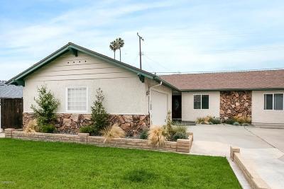 Ventura Single Family Home For Sale: 1379 Winford Avenue