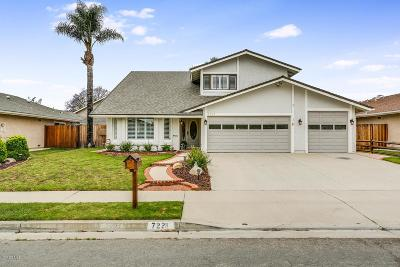 Ventura Single Family Home Active Under Contract: 7221 Wolverine Street