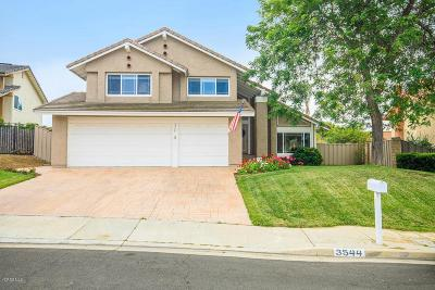 Thousand Oaks Single Family Home For Sale: 3544 Radcliffe Road