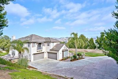 Camarillo Single Family Home Active Under Contract: 5484 Calarosa Ranch Road