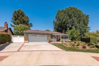 Simi Valley Single Family Home Active Under Contract: 4739 Open Circle
