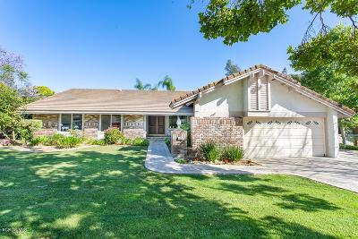 Simi Valley Single Family Home Active Under Contract: 1624 Meander Drive