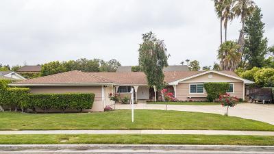 Thousand Oaks Single Family Home Active Under Contract: 212 East Avenida De Los Arboles