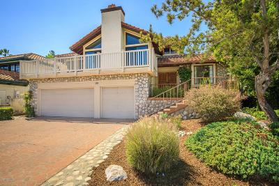 Newbury Park Single Family Home Active Under Contract: 285 Cherry Hills Court