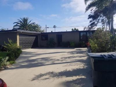 Oxnard Single Family Home For Sale: 248 Helsam Avenue