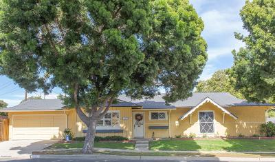 Ventura Single Family Home For Sale: 330 Bucknell Avenue