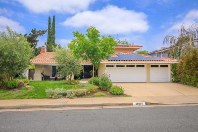 Westlake Village Single Family Home For Sale: 31919 Benchley Court