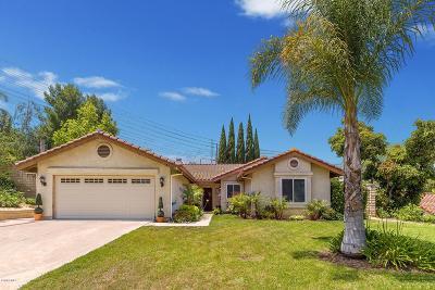 Moorpark Single Family Home For Sale: 3821 Hidden Pine Court