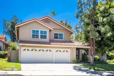 Moorpark Single Family Home Active Under Contract: 4304 Country Meadow Street