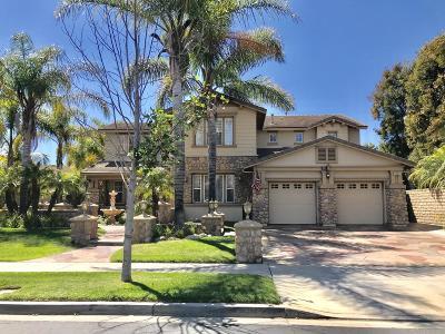 Oxnard Single Family Home For Sale: 2011 Hazeltine Drive