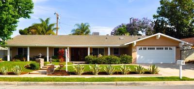 Thousand Oaks Single Family Home For Sale: 1239 Dover Avenue