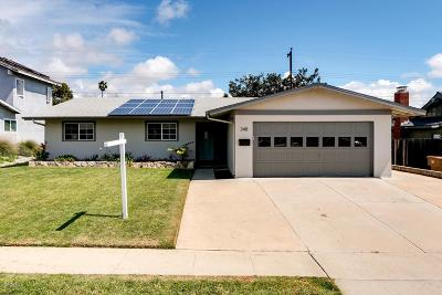 Ventura Single Family Home For Sale: 348 Baker Avenue