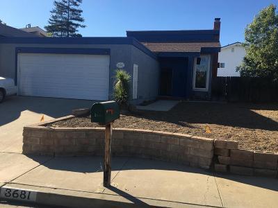 Newbury Park Single Family Home For Sale: 3681 Spanish Gate Drive