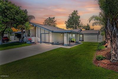 Camarillo Single Family Home Active Under Contract: 5031 Alta Colina Road