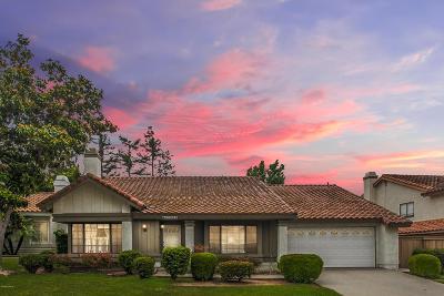 Moorpark Single Family Home For Sale: 12658 Hillside Drive