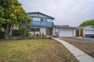 Oxnard Single Family Home For Sale: 1201 West Robert Avenue