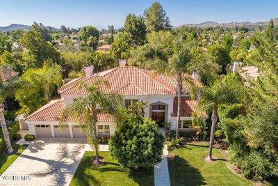 Westlake Village Single Family Home Active Under Contract: 31867 Saddletree Drive