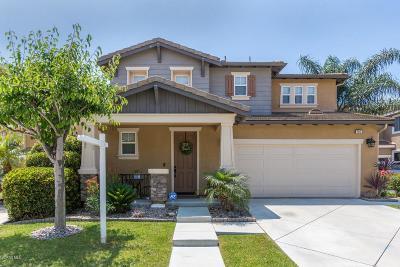 Oxnard Single Family Home Active Under Contract: 751 Gitano Drive