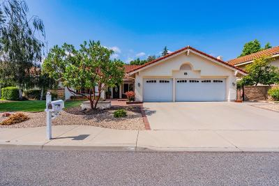 Thousand Oaks Single Family Home Active Under Contract: 745 Lynnmere Drive