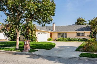 Simi Valley Single Family Home For Sale: 2460 Fitzgerald Road