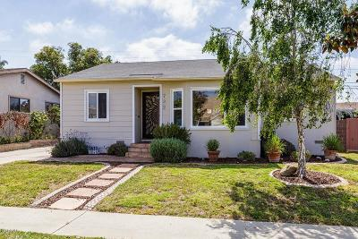 Ventura Single Family Home For Sale: 732 Lemon Grove Avenue