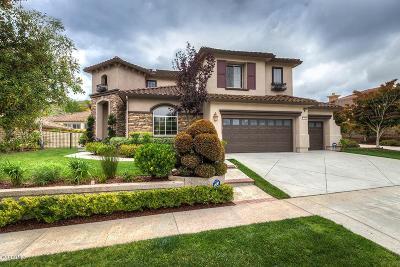 Newbury Park Single Family Home For Sale: 5284 Via Jacinto