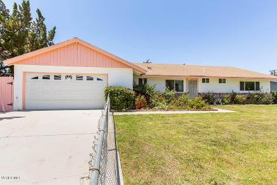 Simi Valley Single Family Home For Sale: 1427 Venice Street