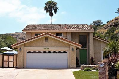 Thousand Oaks Single Family Home For Sale: 3497 Hill Canyon Avenue