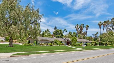 Thousand Oaks Single Family Home For Sale: 1162 Calle Yucca