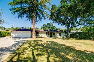 Ojai Single Family Home For Sale: 848 South Rice Road