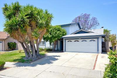 Oxnard Single Family Home For Sale: 841 Rubens Place