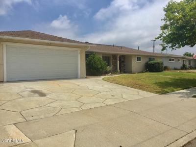 Camarillo Single Family Home For Sale: 422 Fulton Street