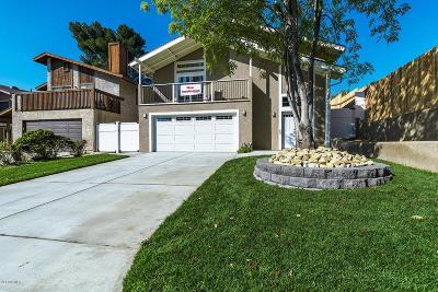 Thousand Oaks Single Family Home For Sale: 885 Masterson Drive