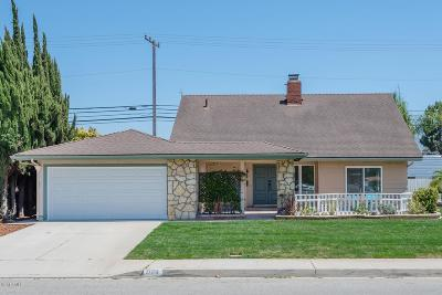 Camarillo Single Family Home For Sale: 1106 Gracia Street