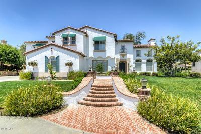 Newbury Park Single Family Home For Sale: 4403 Paseo De La Paz