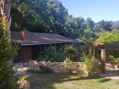Ventura Single Family Home For Sale: 8726 Nye Road