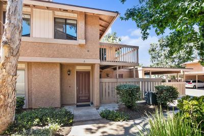 Simi Valley Condo/Townhouse For Sale: 4484 Lubbock Drive #A