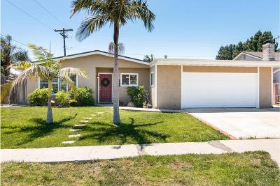Ventura Single Family Home Active Under Contract: 985 Ann Arbor Avenue