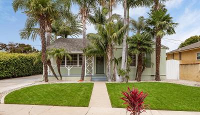 Ventura Single Family Home For Sale: 563 South Joanne Avenue