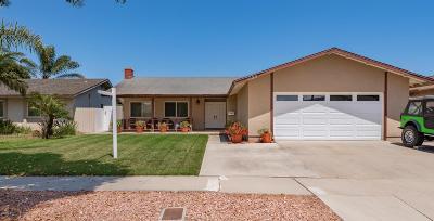 Oxnard Single Family Home For Sale: 1120 Rachel Drive