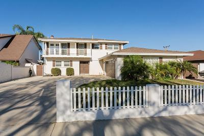 Simi Valley Single Family Home For Sale: 1804 Marcella Street