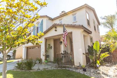 Oxnard Single Family Home For Sale: 815 Noontide Way