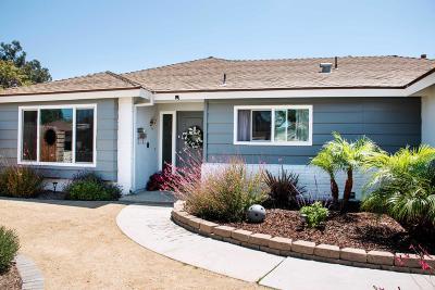 Camarillo Single Family Home For Sale: 1578 Mobil Avenue