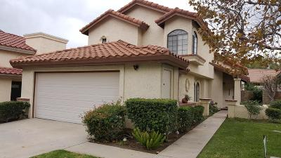 Simi Valley Condo/Townhouse For Sale: 2759 Simi Hills Lane