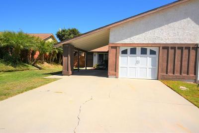Camarillo Single Family Home For Sale: 680 Hillcrest Drive